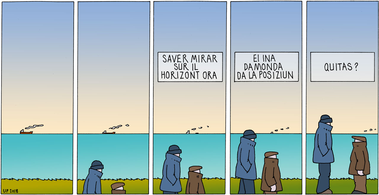 horizont comic strip